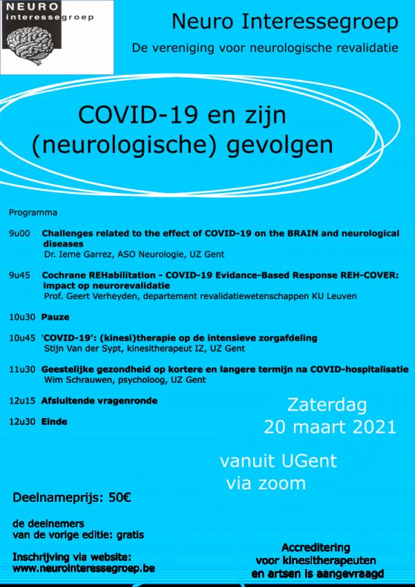 Covid-19 en zijn (neurologische) gevolgen